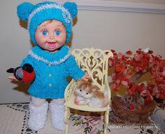 Голубая лагуна, одежда для моих кукол / Одежда и обувь для кукол - своими руками…