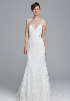 Christos Mindy Wedding Dress