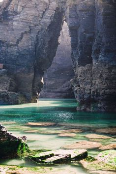 Cathedrals beach, Galicia, Spain So many pretty places