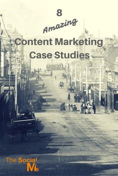 Content Marketing is amazing - if you do it right. Here are 8 inspiring case studies: http://blog.thesocialms.com/8-outstanding-content-marketing-case-studies/