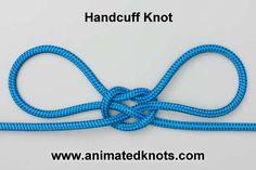 Tutorial on Handcuff Knot Tying