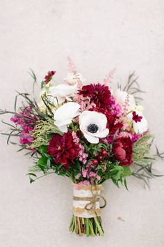 My bridal bouquet from Clementine floral designs. Burgundy,wine, white, and blush pink for a fall November wedding. Photography: mintphotography
