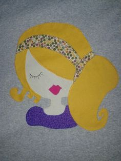 Camiseta Patchwork - you could have a variety of hairstyles.