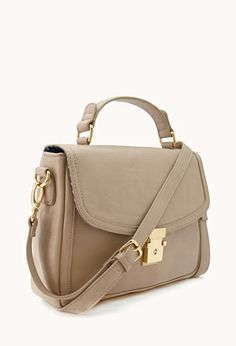 Girl-About-Town Satchel | FOREVER 21 - 1040495167 #ForeverHoliday