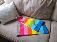 Ikea pillowcase to bag great idea