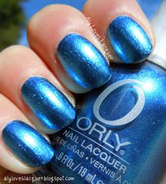 Orly polish in Sweet Peacock.