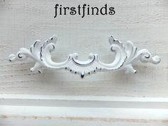 5 French Provincial Handles Shabby Chic Drawer Pulls White Furniture Hardware Dresser Cabinet Door Painted Desk 3inch ITEM DETAILS BELOW