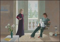David Hockney, 'Mr and Mrs Clark and Percy' 1970–1