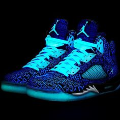 """Doernbecher"" Air Jordan V Retro #glowinthedark #dope"