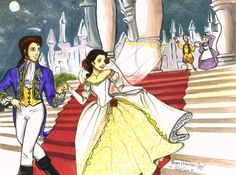 Belle and Prince Adam's Wedding