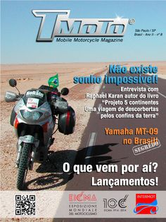 Chegou TMoto Magazine 8! http://www.tmoto.com.br