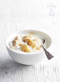 Banan & Kanel - Se flere spennende yoghurtvarianter på yoghurt.no - Et inspirasjonsmagasin for yoghurt.