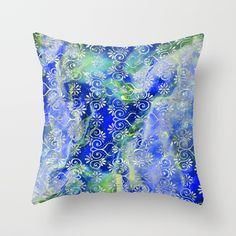 Buy Psicodelic Adventure - Dark Blue Throw Pillow by pabrimel. Worldwide shipping available at Society6.com. Just one of millions of high quality products available. #s6gtp
