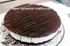 حلى الأوريو رووعة للأخت روح المحبة الطريقة في الرابط: http://www.halawiyat-malika.com/2014/05/blog-post_849.html