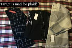 Target is mad for plaid this season! #TargetStyle #love2plaid #adamlippesfortarget