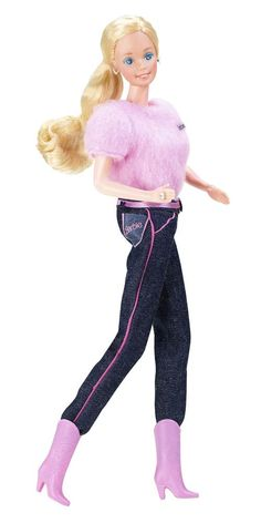 Designer Denim Barbie, 1982 Brooke Shields had her Calvin Kleins, and Barbie had these fabulous jeans.