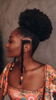 African Hairstyles, Afro Hairstyles, Pelo Natural, 4b Natural Hair, Curly Hair Styles, Natural Hair Styles, Pelo Afro, Hair Dos, 4c Hair