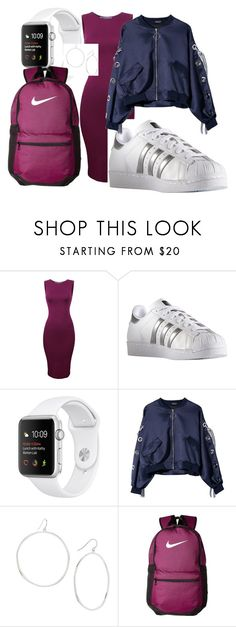 Sport shik by explorer-14898859688 on Polyvore featuring мода, adidas, NIKE and Gorjana
