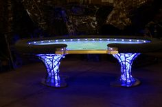 High Limit Custom Poker Table - Custom Base Poker, Gaming, and Other Tables Game Tables, Table Games, Poker Table Plans, Diy Table, Dining Table, Custom Poker Tables, Charity Event, Wood Work, Benches