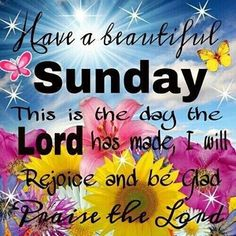 HOPE YOU'RE HAVING A BEAUTIFUL SUNDAY AFTERNOON. | Have a Blessed Sunday Graphics