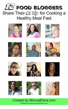 12 Food Bloggers Sha