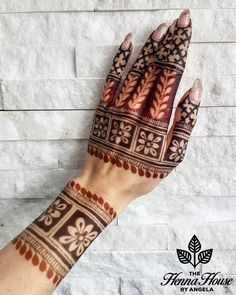 Hi everyone , welcome to worlds best mehndi and fashion channel Zainy Art . Hope You guys are liking my daily update of Mehndi Designs for Hands & Legs Nail . Mehndi Designs Book, Back Hand Mehndi Designs, Simple Arabic Mehndi Designs, Unique Henna, Mehndi Designs For Girls, Mehndi Designs 2018, Dulhan Mehndi Designs, Mehndi Designs For Fingers, Mehndi Patterns