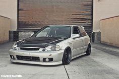 As soon as I seen it, I had a thing for it. I must say, I love silver & black Ek's (: