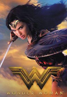 Gal Gadot as Diana Prince / Wonder Woman Wonder Woman Movie, Gal Gadot Wonder Woman, Justice League, Hits Movie, Dc Movies, Star Cast, Wonder Women, Film Serie, Dc Heroes
