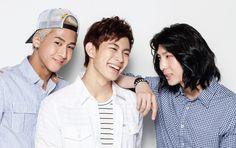 VIXX - K Wave Magazine July Issue 13: Ravi, Hongbin, and Leo