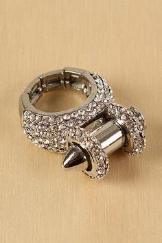 Bullet Case Ring  @Mary Kay Scanlon Santa should bring me this!