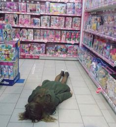 Pastel grunge toys passed out funny