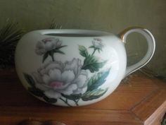 Vintage Ucagco Occupied Japan, Pattern Floral, Sugar Bowl