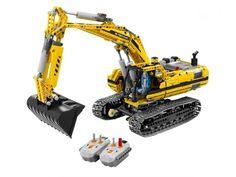 LEGO - 8043 - La pelleteuse motorisée