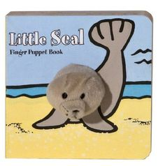Little Finger Puppet Board Bks.: Little Seal : Finger Puppet Book FING by Image Books Staff and Chronicle Books Staff Board Book) for sale online Finger Puppet Books, Finger Puppets, Red Fish Blue Fish, Little Giraffe, Beginner Books, Little Fish, Little Puppies, Baby Gifts, New Baby Products