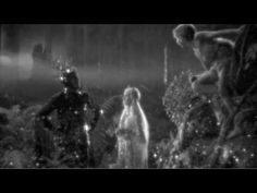 A Midsummer Night's Dream  1935  Directed By Max Reinhardt and William Dieterie    Music: Felix Mendelssohn's music was used , but re-orchestrated by Erich Wolfgang Korngold.    No copyright intended