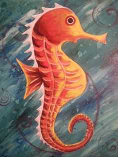 Seahorse Underwater  High Quality 16x20 inch by jessicapribil, $120.00 www.etsy.com/shop/jessicapribil