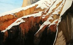 Canyon Light by Michael Bailey Watercolor ~ 13 x 21