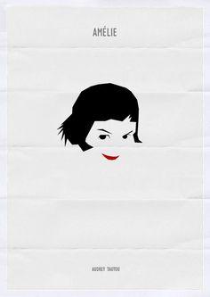 Minimalist Movie Posters - Amelie