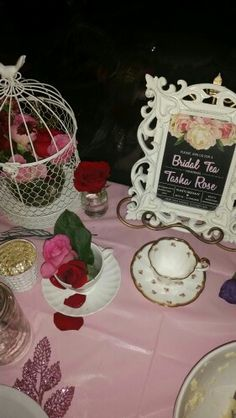 Bridal tea party