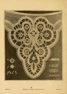 Madame Goubaud's point lace book : instructions and patterns Needle Lace, Bobbin Lace, Macrame Patterns, Lace Patterns, Hairpin Lace, Lacemaking, Point Lace, Antique Lace, Cutwork