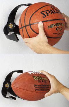 Rangement pour ballons de toute taille