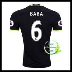Fotballdrakter Chelsea BABA #6 Bortedraktsett 2016-2017