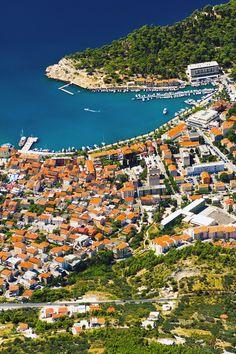 The city of #Makarska #Croatia.