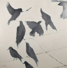 Rooks on Wire by Jane Blair