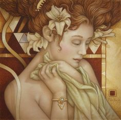Michael Parkes, 1944 ~ Magical Realist painter   Tutt'Art@   Pittura * Scultura * Poesia * Musica  