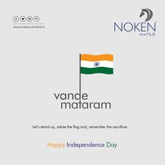 Let's stand up and salute the flag and remember the sacrifices Happy Independence Day. Happy Independence Day Indian, Independence Day Photos, Independence Day Wishes, India Independence, Festivals Of India, Indian Festivals, Save Earth Posters, Saluting The Flag, India Poster