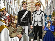 """""""Os Príncipes e o tesouro"""" ensina sobre casamento gay para crianças"""