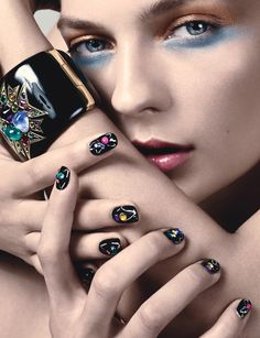 In the Mood for...A Manicure - October 2014-Wmag