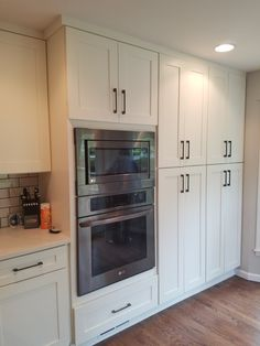 White Shaker Cabinetry in our latest Overland Park project Visit Overlandpark cabinets.com