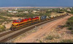 RailPictures.Net Photo: KCS 4861 Kansas City Southern Railway GE ES44AC at Benson, Arizona by AZrailfan